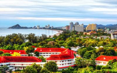 Hua Hin Coastal Landscape Thailand